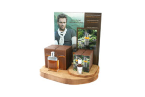 Holzdisplay für Ihren Verkaufspunkt